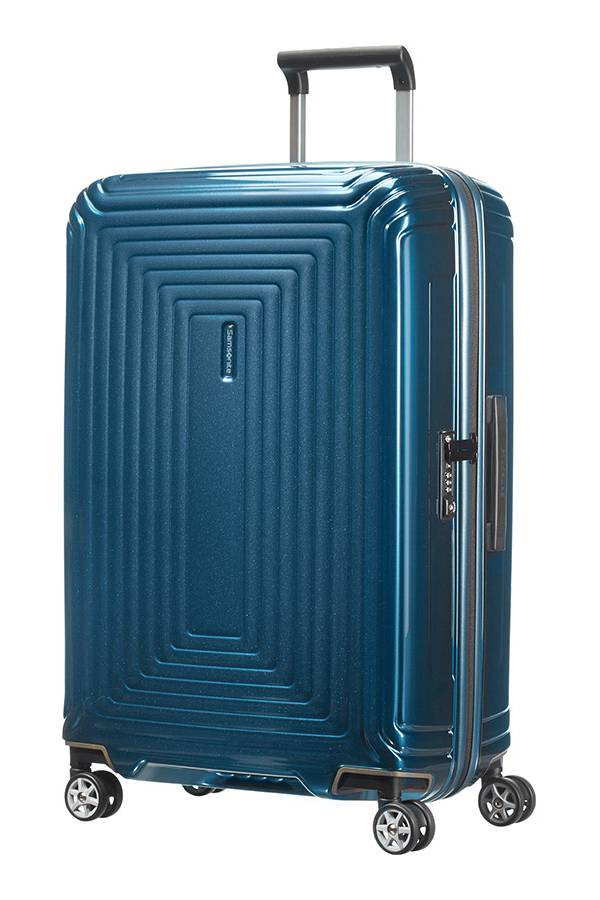 Walizki duże > 70 cm Samsonite Neopulse Metallic Blue