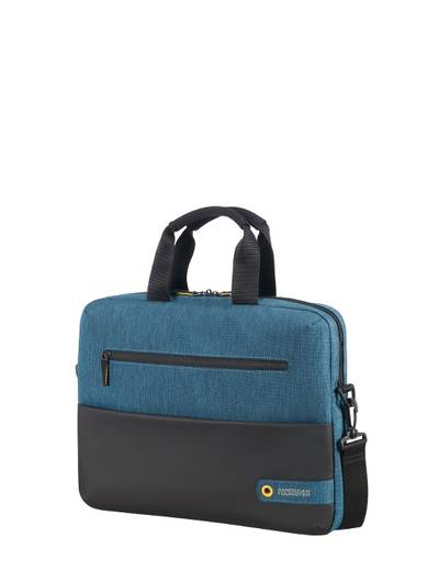 "Laptop bag American Tourister City Drift 13,3"" 14,1"" Black / Blue"
