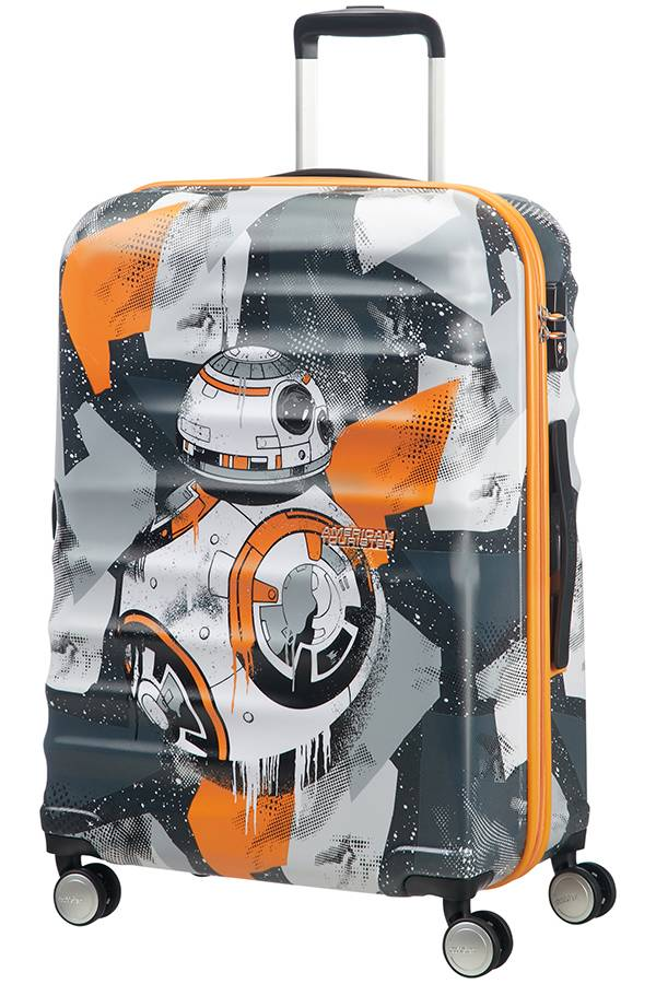 90c019825f Suitcase American Tourister Star Wars BB-8 from Star Wars 67 cm with 4  wheels - Evertourist