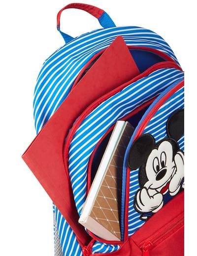 Kinderrucksack Samsonite Disney Minnie/Mickey Stripes größe M