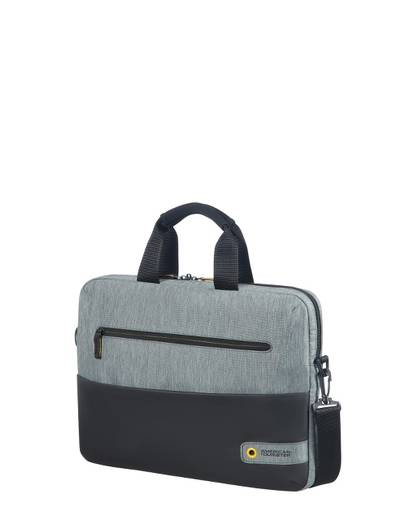 "Torba na laptopa American Tourister City Drift 13,3-14,1"" szaro-czarna"