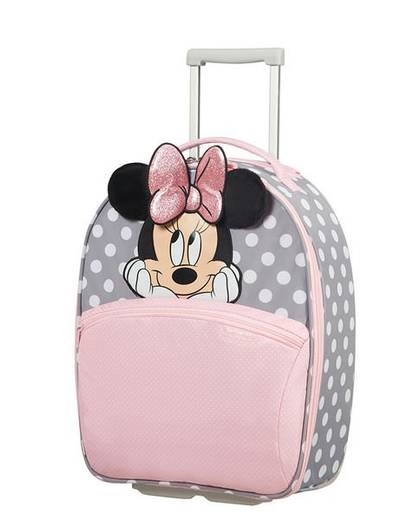 Walizka kabinowa Samsonite Disney Ultimate 2.0 Minnie Glitter wózek