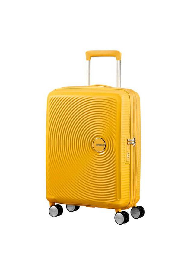 Walizki kabinowe American Tourister SoundBox Żółty Golden Yellow
