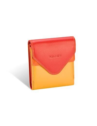 Ladies wallet Valentini Colors Red Green