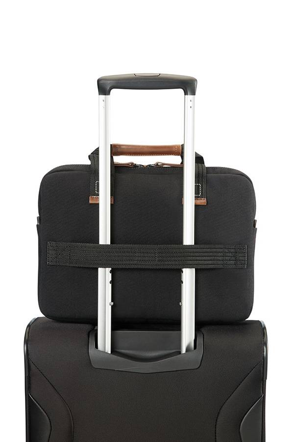 Torby na laptopa Samsonite Sideways Czarny Black / Grey