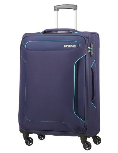Extra large luggage American Tourister Holiday Heat 79.5 cm with 4 wheels