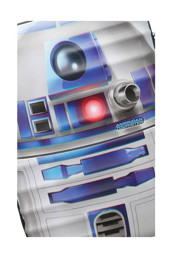 Walizki duże > 70 cm American Tourister WaveBreaker Star Wars Multikolor Star Wars R2D2