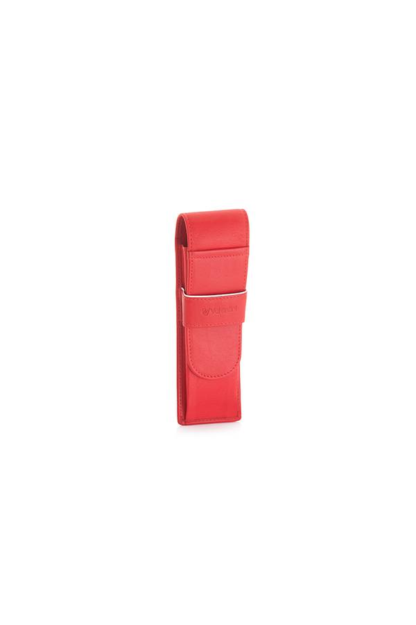 Etui Valentini Black & Red Diamond Czerwony Red