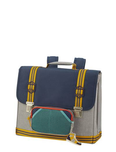 Tornister Samsonite Sam School Spirit M szaro-granatowy