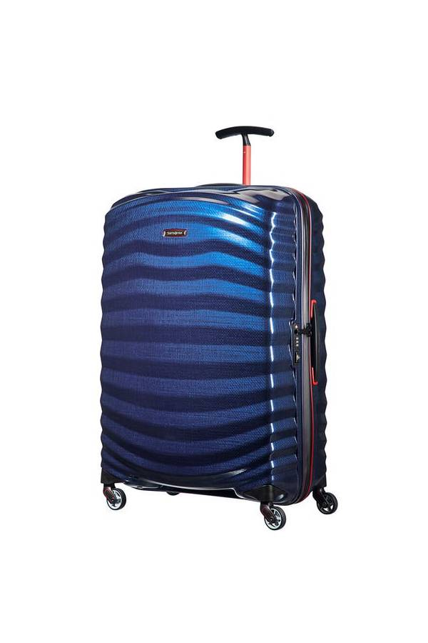 Walizki twarde Samsonite Lite-Shock Sport Niebieski Nautical Blue/Red