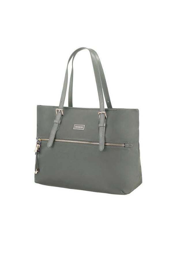 Shopper Samsonite Karissa Zielony Gunmetal Green