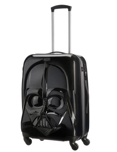 Suitcase Samsonite Star Wars Darth Vader 66 cm with 4 wheels