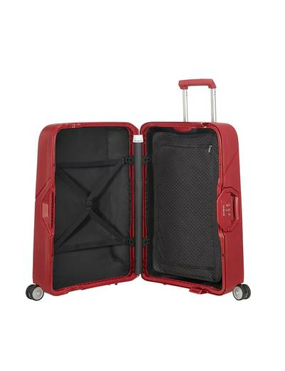Extra large luggage Samsonite Magnum 75 cm with 4 (double) wheels