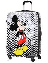 Extra large luggage American Tourister Legends Disney 75 cm with 4 wheels