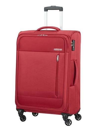 Medium suitcase American Tourister Heat Wave 68 cm with 4 wheels