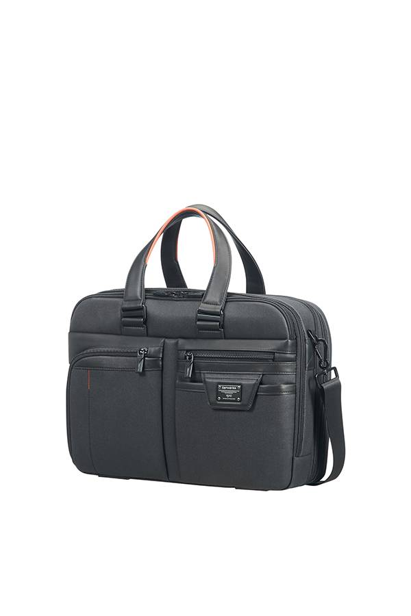 laptoptasche samsonite zenith 15 6 schwarz evertourist. Black Bedroom Furniture Sets. Home Design Ideas
