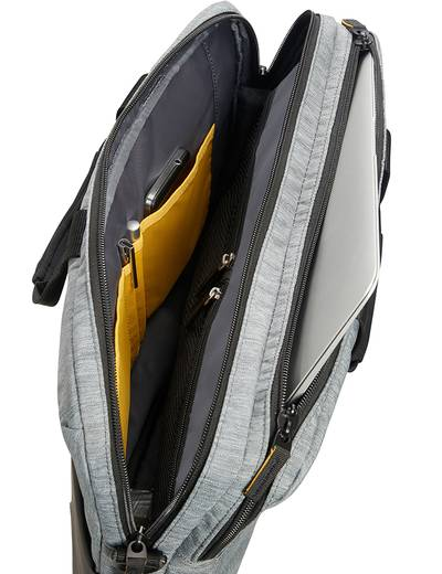 "Torba na laptopa American Tourister City Drift 15,6"" szaro-czarna"