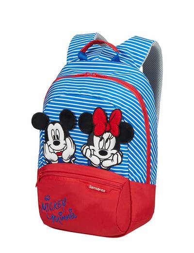 Kinderrucksack Samsonite Disney Minnie/Mickey Stripes größe S+