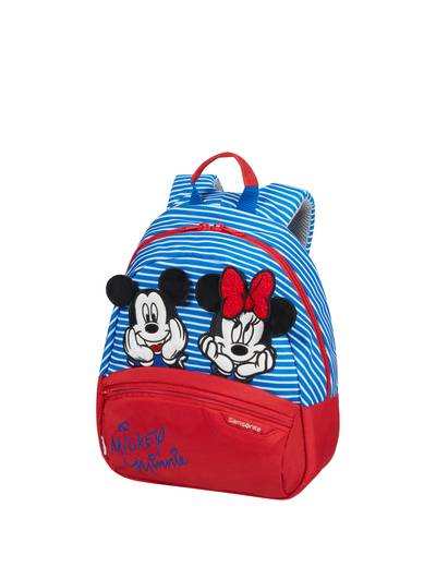 Kinderrucksack Samsonite Disney Minnie/Mickey Stripes größe S