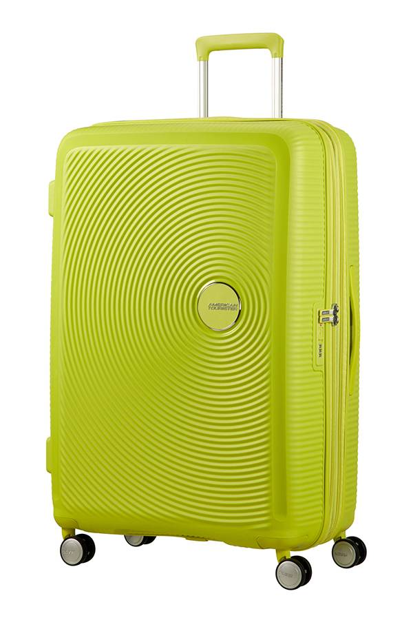 Walizki duże > 70 cm American Tourister SoundBox Żółty Tropical Lime