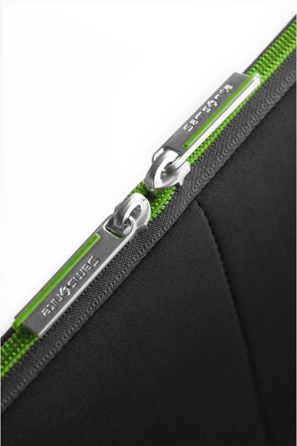 Torby na laptopa Samsonite Airglow Sleeves Czarny Black / Green