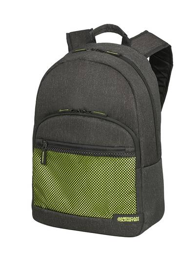 """Laptop backpack American Tourister Sporty Mesh 15,6"""" Anthracite/Lime Gren"""