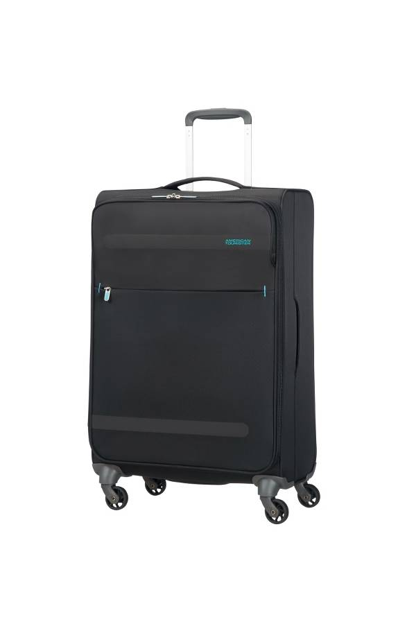 mittelgro e koffer american tourister herolite 67 cm mit 4. Black Bedroom Furniture Sets. Home Design Ideas