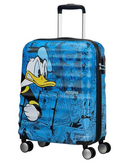 Suitcase American Tourister Disney Donald Duck 55 cm with 4 wheels
