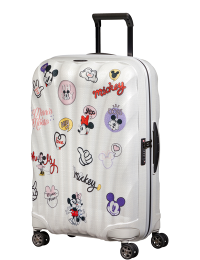 Walizka Samsonite C-Lite Disney 69 cm Min/Mick Stickers