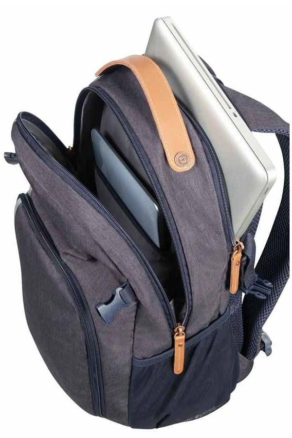 Lifestyle Samsonite Rewind Natural Niebieski River Blue