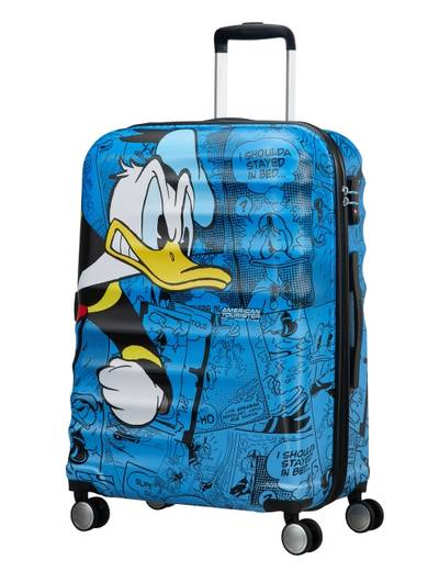 Suitcase American Tourister Disney Donald Duck 77 cm with 4 wheels
