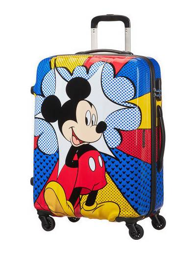 Walizka American Tourister Disney Legends Mickey Flash Pop 64 cm