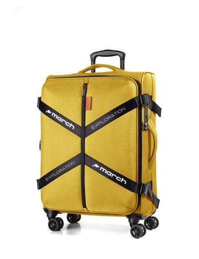 Medium suitcase March Exploration 65 cm with 4 wheels