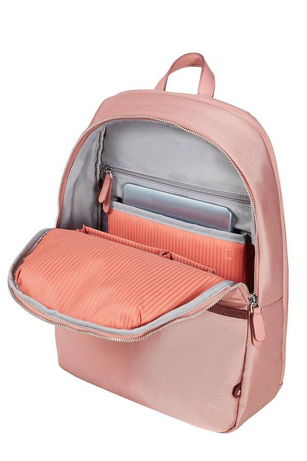 Plecaki na laptopa Samsonite Nefti Różowy Old Rose / Burgundy
