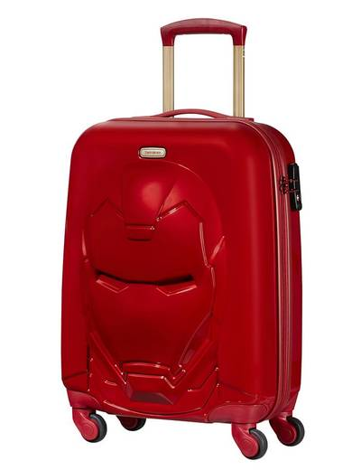 Koffer Samsonite Marvel Iron Man 55 cm 4 Rollen Rot