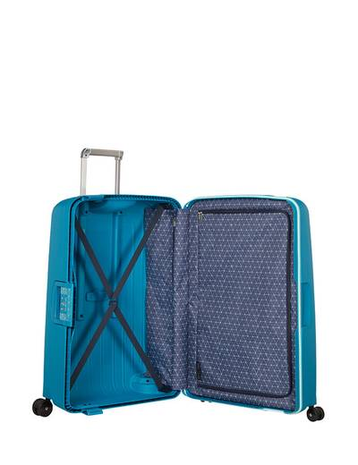 Extra large luggage Samsonite S'Cure 75 cm with 4 wheels
