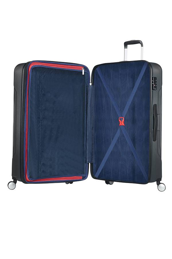 8d756b8b4 Extra large luggage American Tourister Tracklite 78 cm with 4 wheels -  Evertourist
