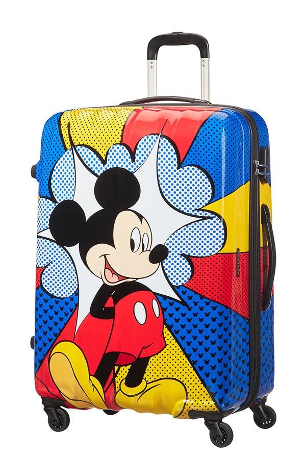 Disney American Tourister Disney Multikolor Mickey Flash Pop