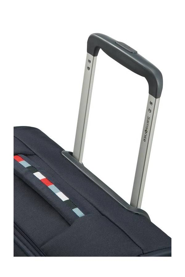 Walizki kabinowe Samsonite Base Boost Niebieski Navy Blue Stripes (boost)