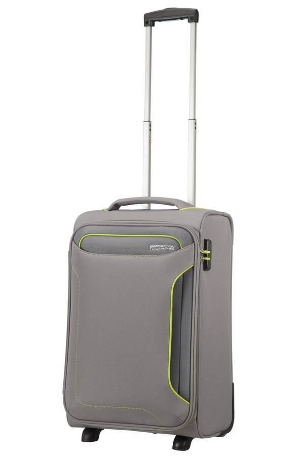 Walizki kabinowe American Tourister Holiday Heat Szary Metal Grey