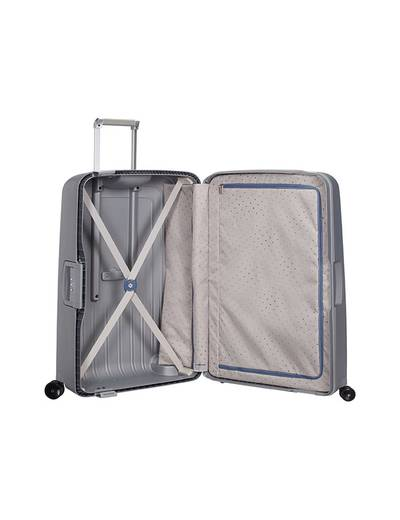 Extra large luggage Samsonite S'Cure 75 cm with 4 (double) wheels