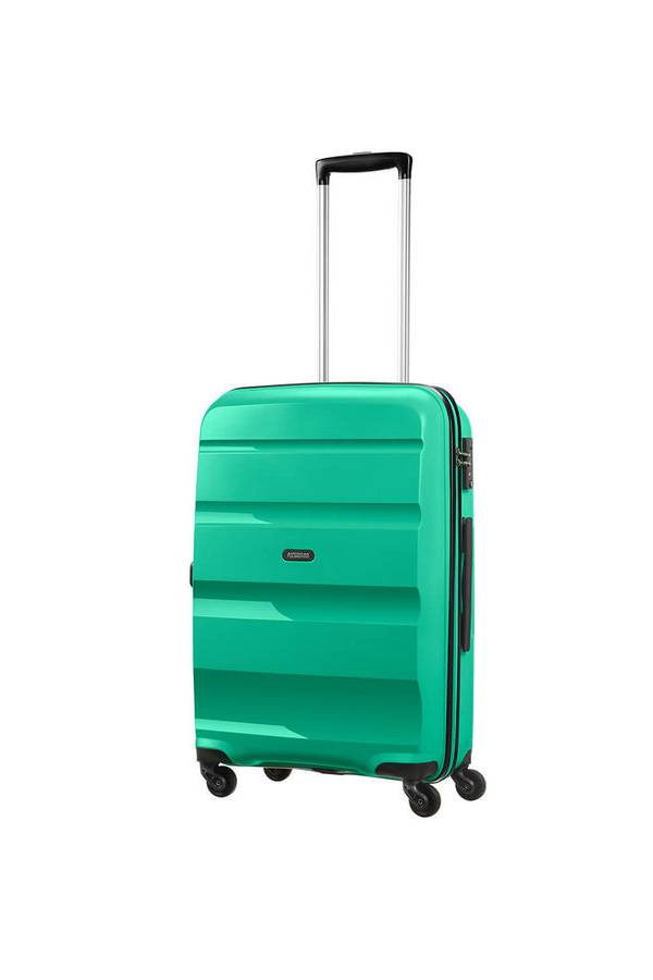 Średni 56 - 69 cm American Tourister Bon Air Zielony Emerald Green BA