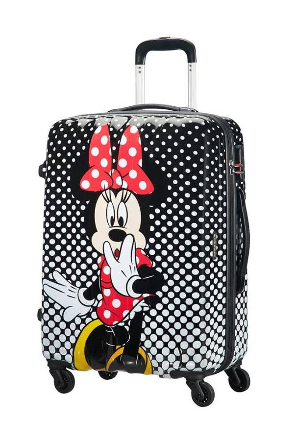 Walizki średnie 56 - 69 cm American Tourister Legends Disney Multikolor Minnie Mouse Polka Dot