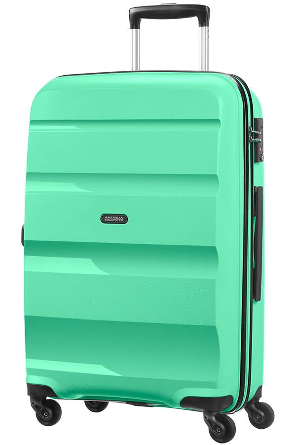 Średni 56 - 69 cm American Tourister Bon Air Zielony Mint Green