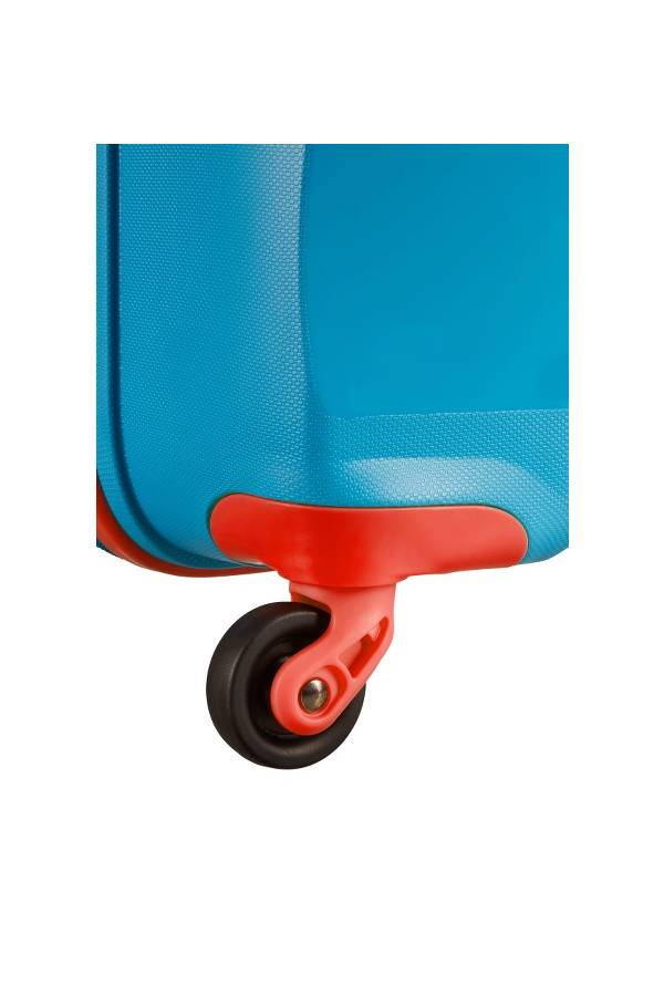Średni 56 - 69 cm American Tourister Bon Air Niebieski SKY BLUE/ORANGE