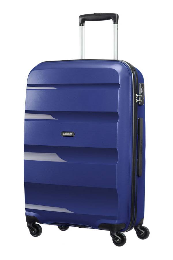 Średni 56 - 69 cm American Tourister Bon Air Niebieski Midnight Navy