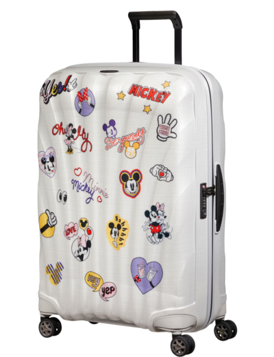 Walizka Samsonite C-Lite Disney 75 cm Min/Mick Stickers