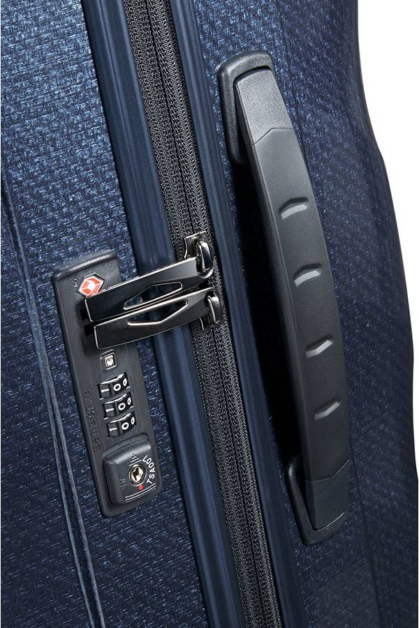 Średni 56 - 69 cm Samsonite Cosmolite Midnight Blue