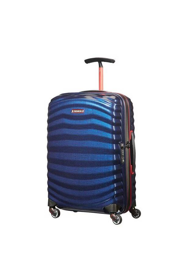 Walizki kabinowe Samsonite Lite-Shock Sport Niebieski Nautical Blue/Red