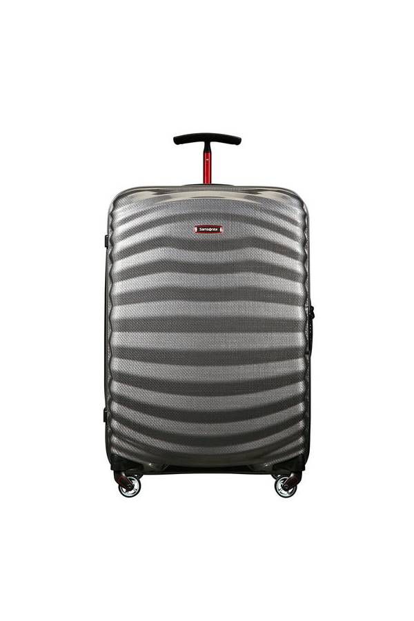 Walizki twarde Samsonite Lite-Shock Sport Szary Grey/Red